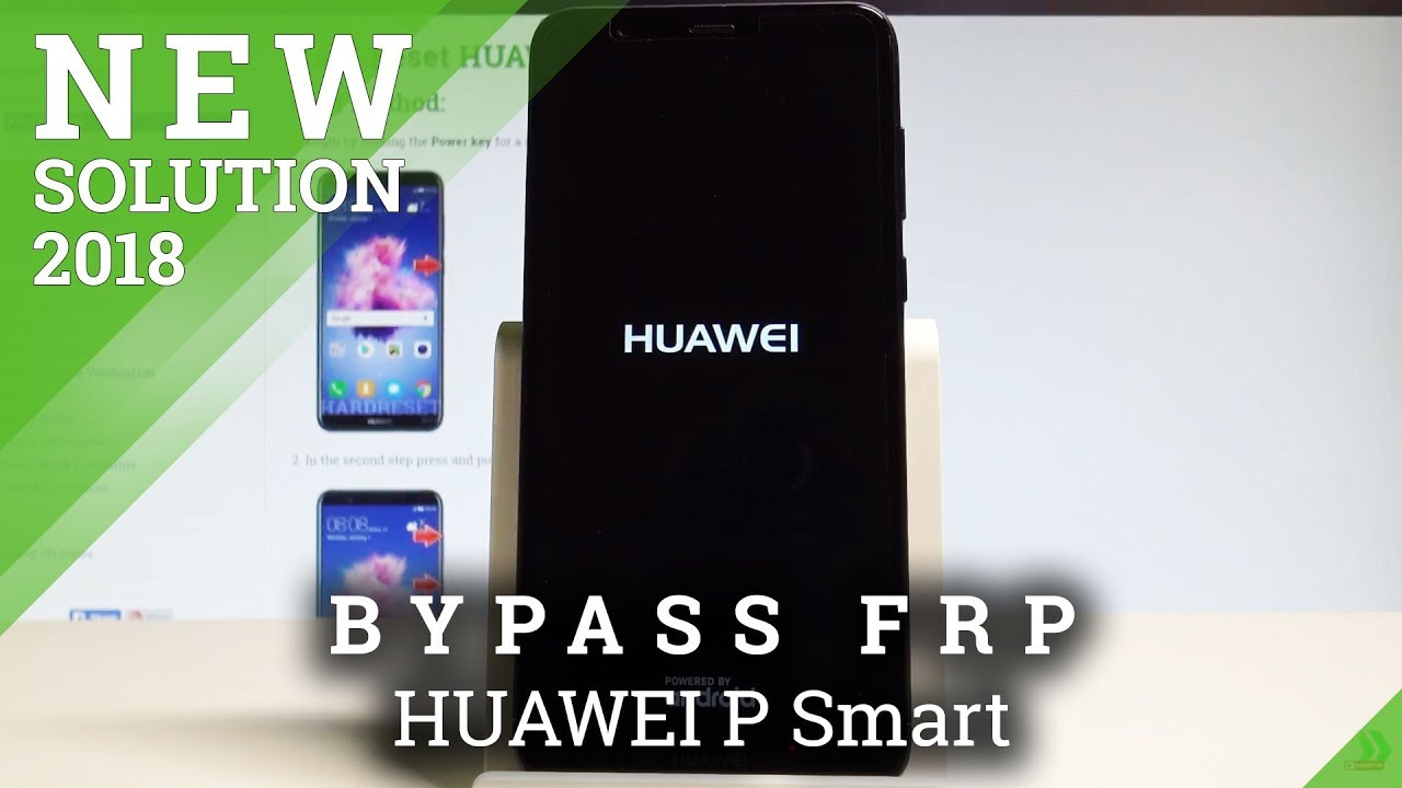 How to Bypass Google Verification in HUAWEI P Smart - Unlock FRP New  Security Patch |HardReset Info
