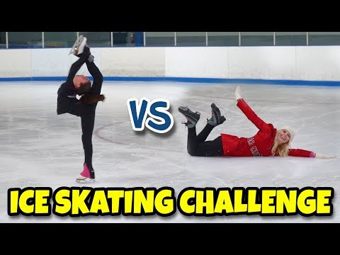 WHO'S BETTER KIDS OR TOTALLY TV? ICE SKATING CHALLENGE 2.