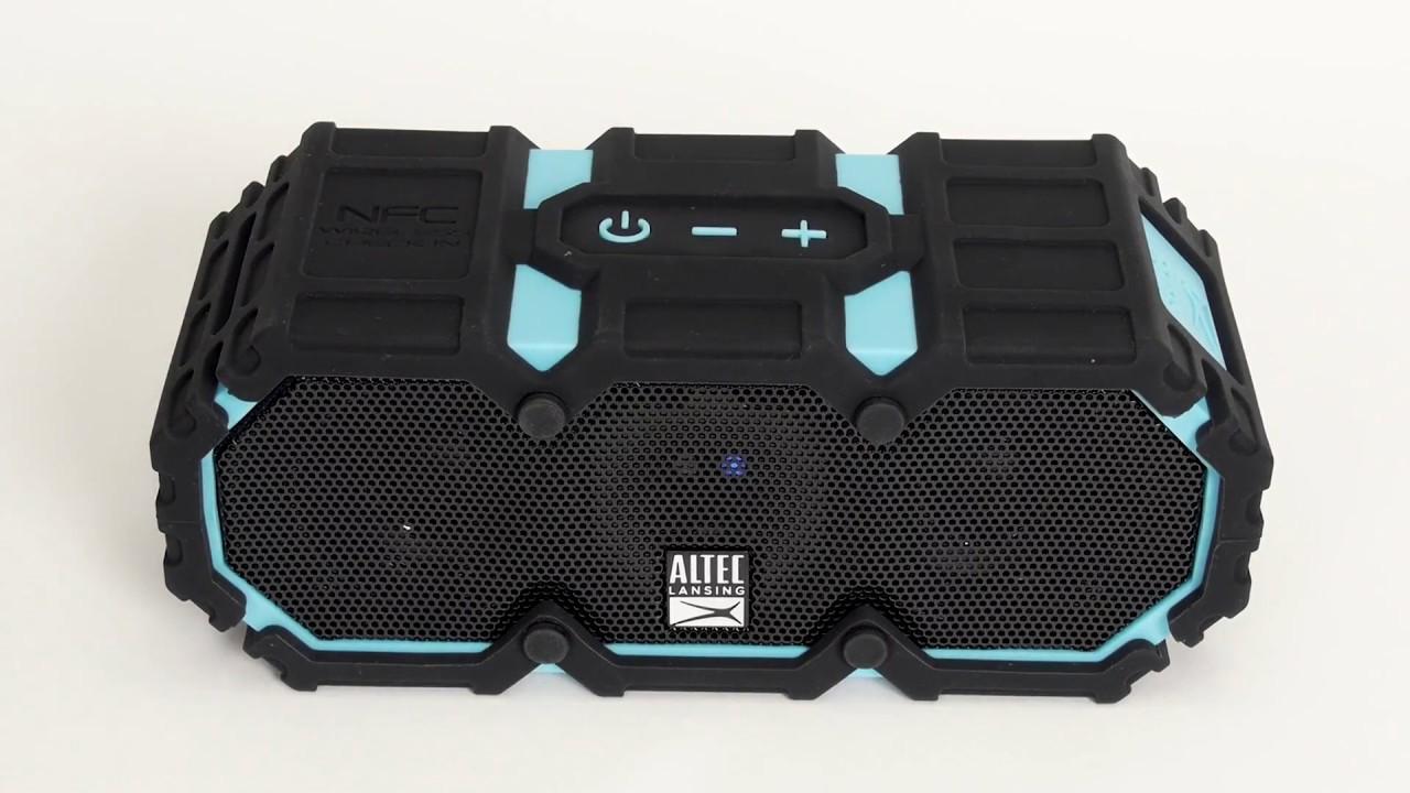 IMW578N-BLG-WM Altec Lansing Lifejacket 3 Rugged Bluetooth Speaker Black
