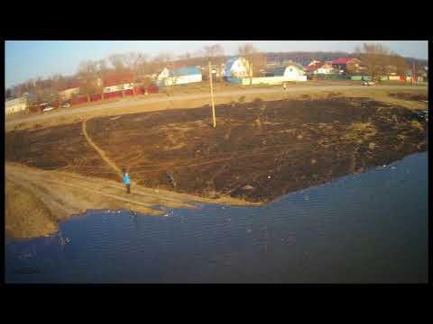 Разлив реки Цна в г Сасово в 2018 г
