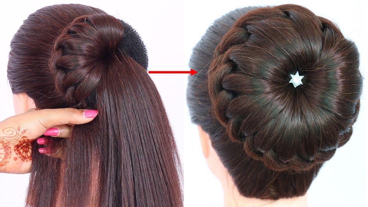 bun hairstyle wedding