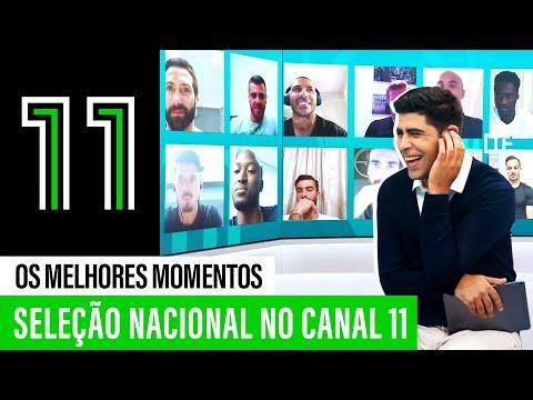 Seleção Nacional no Canal 11: os melhores momentos