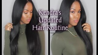 Kendra's Updated Hair Routine