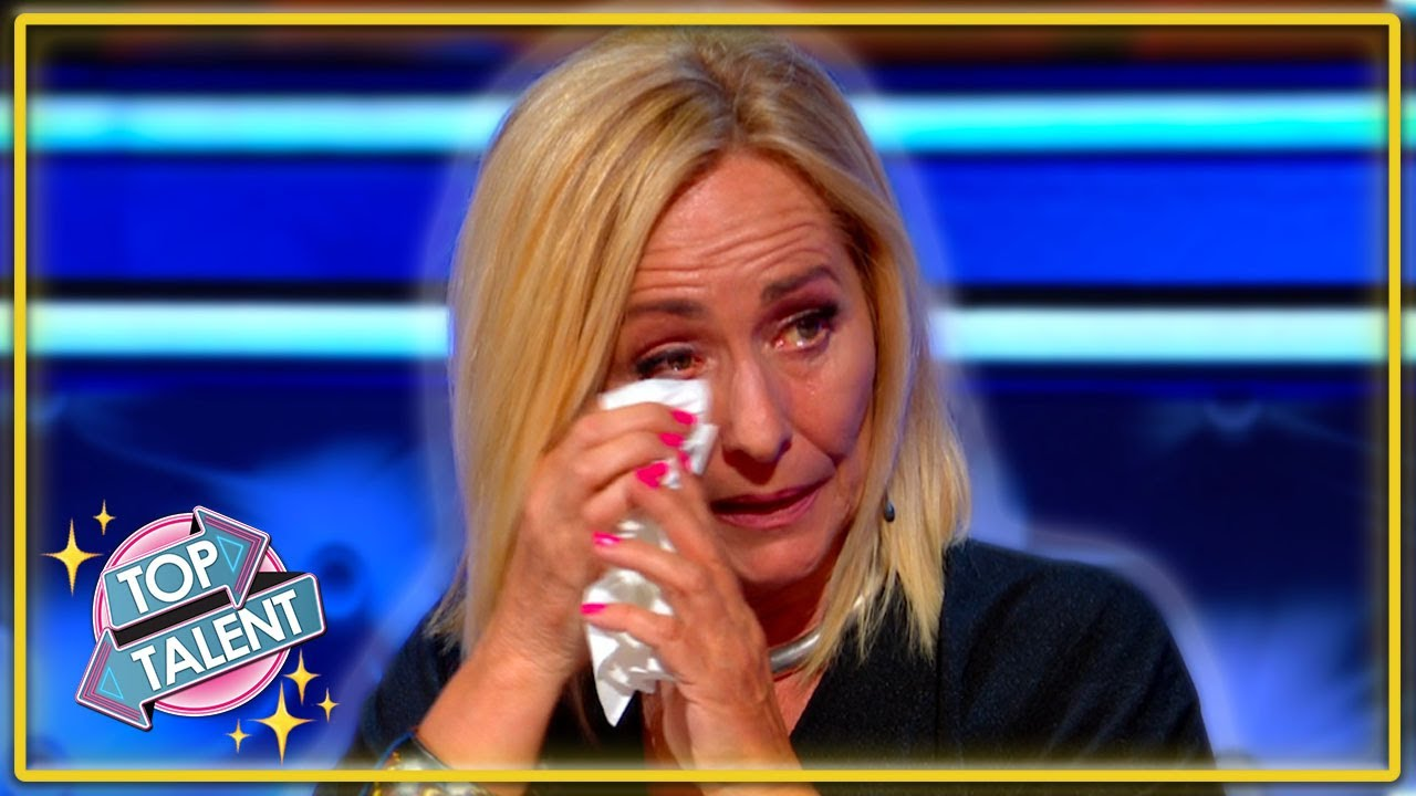 GOLDEN BUZZER | MOVING Dance Duo Brings Judge To TEARS On Holland's Got Talent 2020 | Top Talent