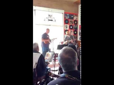 Monterey Ukulele Club Peter Meuse and Alan Souza Jamming