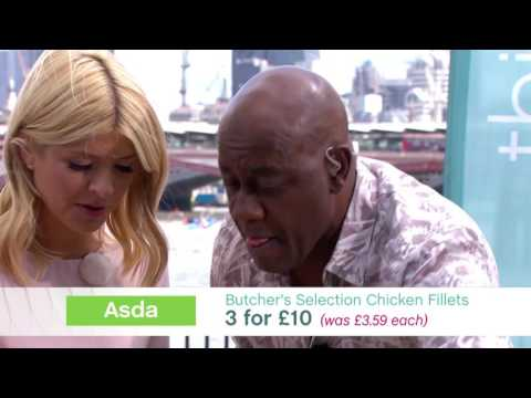 Ainsley Harriott's Lemon And Oregano Chargrilled Chicken   This Morning
