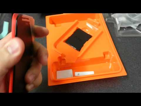 Unboxing of the htc one sv on boostmobile