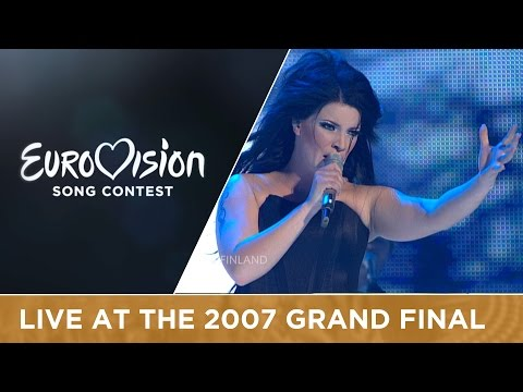 Hanna Pakarinen - Leave Me Alone (Finland) Live 2007 Eurovision Song Contest
