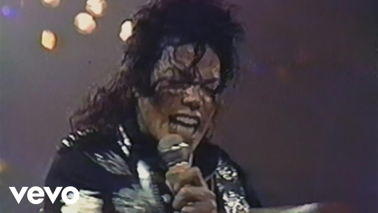 Michael Jackson - Wanna Be Startin' Somethin' (Live At Wembley July 16, 1988)