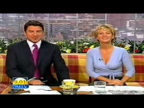 Esther Mcvey [GMTV] -  1997 Breakfast Time Busty Cleavage.