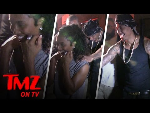 "Nick Cannon's ""Chilli"" Night (TMZ TV)"