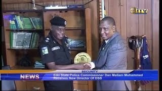 Edo State Police Command Dan Mallam Muhammed receives new director of DSS