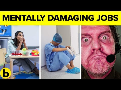 These Jobs Are Damaging Your Mental Health thumbnail