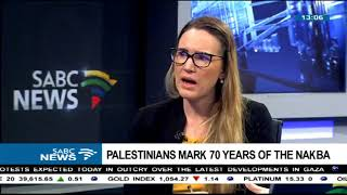 Palestine marks 70 years of the Nakba: Prof. Ran Greenstein