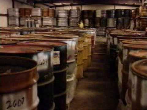 Hazardous Waste Drum Site Cleanup USEPA 1998