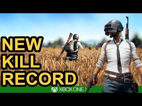 NEW KILL RECORD! PUBG Xbox One X