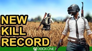 NEW KILL RECORD! PUBG Xbox One X