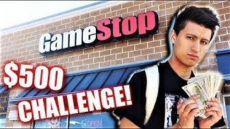 THE $500 GAMESTOP CHALLENGE! (NINTENDO SWITCH)
