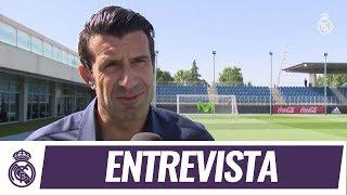 """Figo: """"Ganar una Copa de Europa es un sueño cumplido"""""""