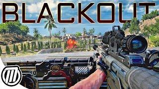 Black Ops 4 Blackout: HUNTER KILLER - COD Battle Royal Gameplay
