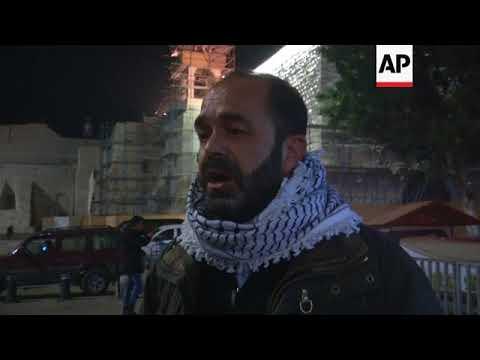 Bethlehem protest against US plan to recognise Jerusalem as Israel's capital