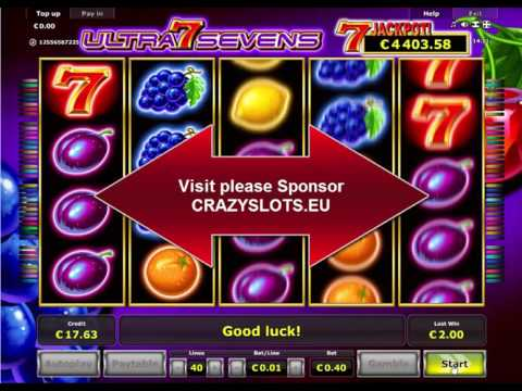 Ultra Sevens Slots - Play Free Novomatic Slot Games Online