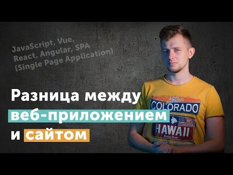 Чем веб-приложения отличаются от веб-сайтов | Иван Петриченко