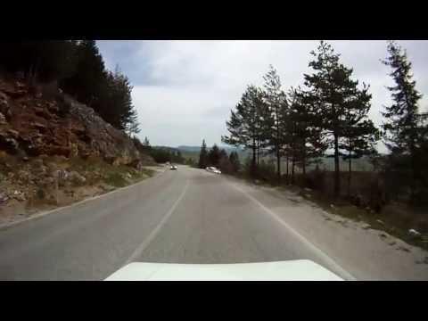 Bosnian road M-19 (02. Han Derventa village - Romanija saddle - Podromanija village)