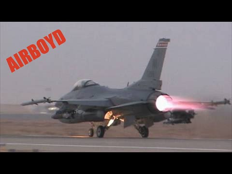 Dust Off At Dusk - 115th Fighter Wing ANG F-16
