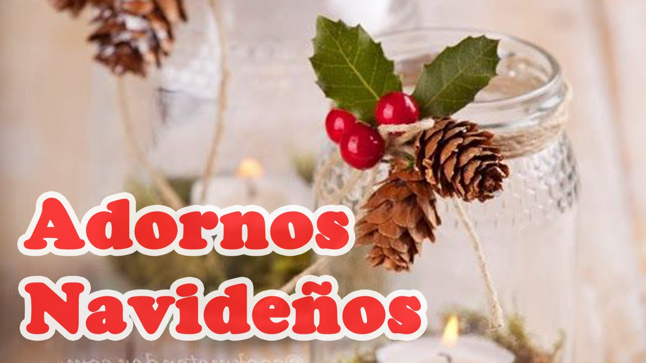 40 ideas adornos navide os perfectos para ti hd youtube for Adornos navidenos para regalar