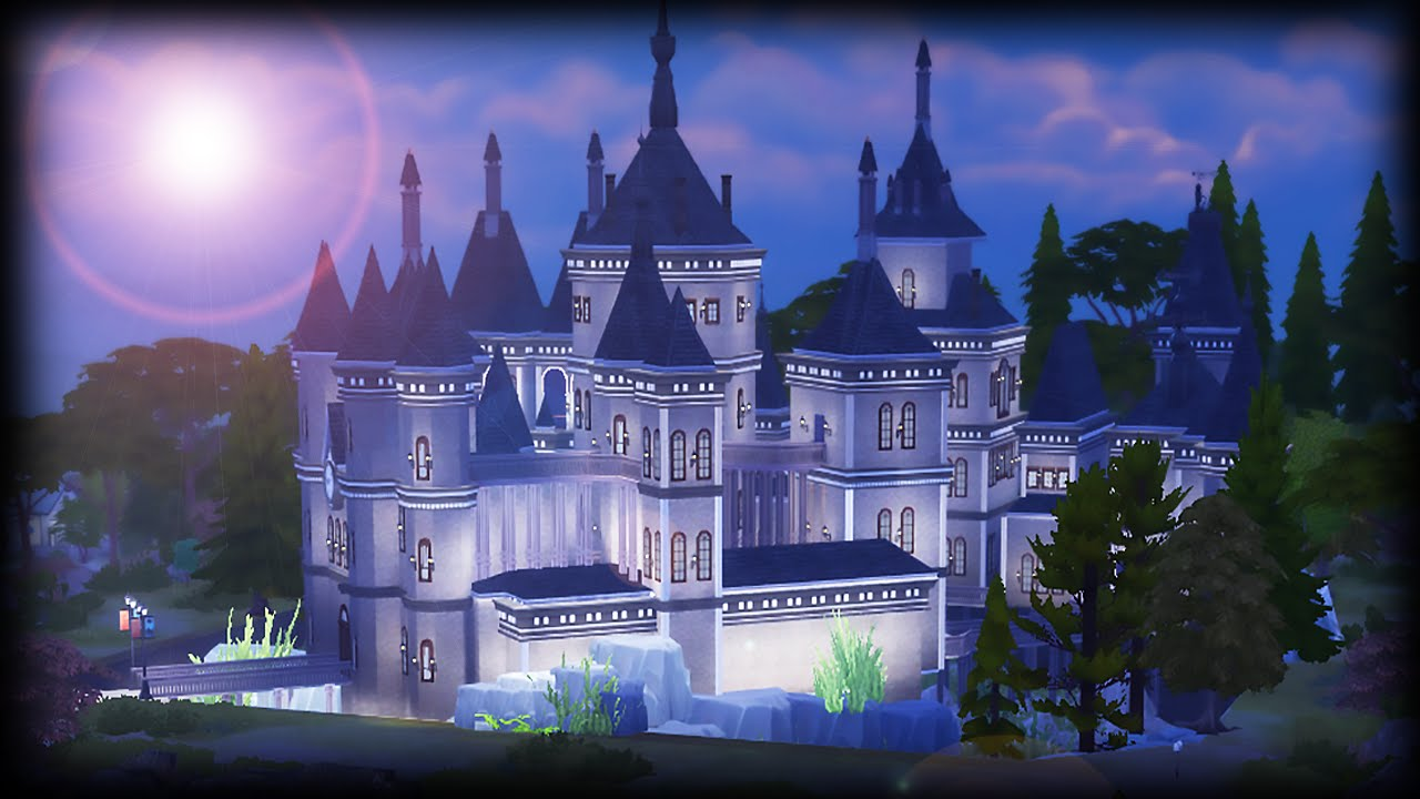 Building Hogwarts On Sims