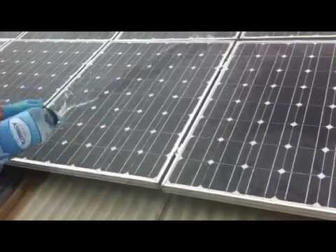 Nanoshell S Self Cleaning Solar Panel Coatings Youtube