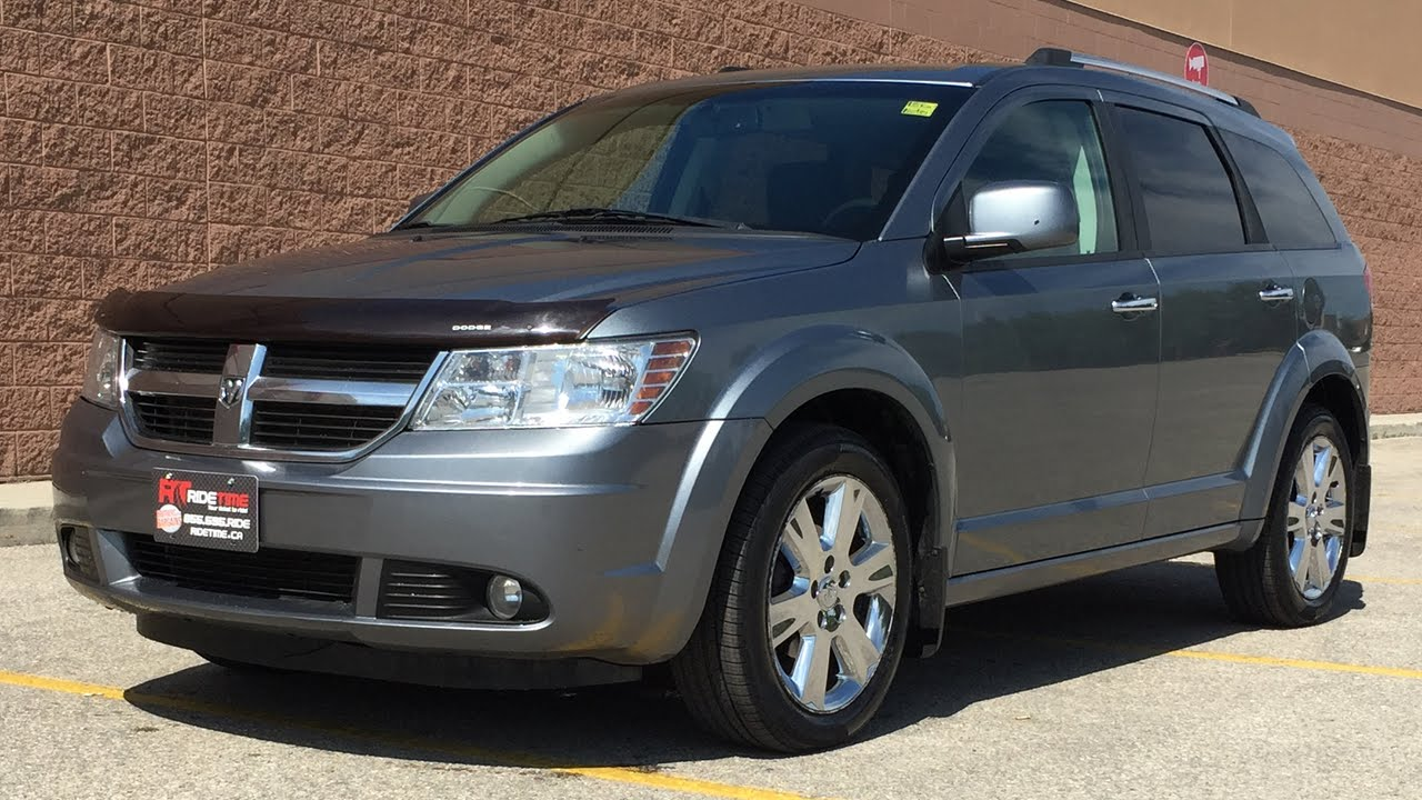 2009 Dodge Journey R/T AWD - Leather, Alloy Wheels, Sunroof - YouTube