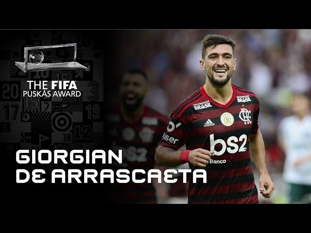 Giorgian De Arrascaeta Goal | FIFA Puskas Award 2020 Nominee