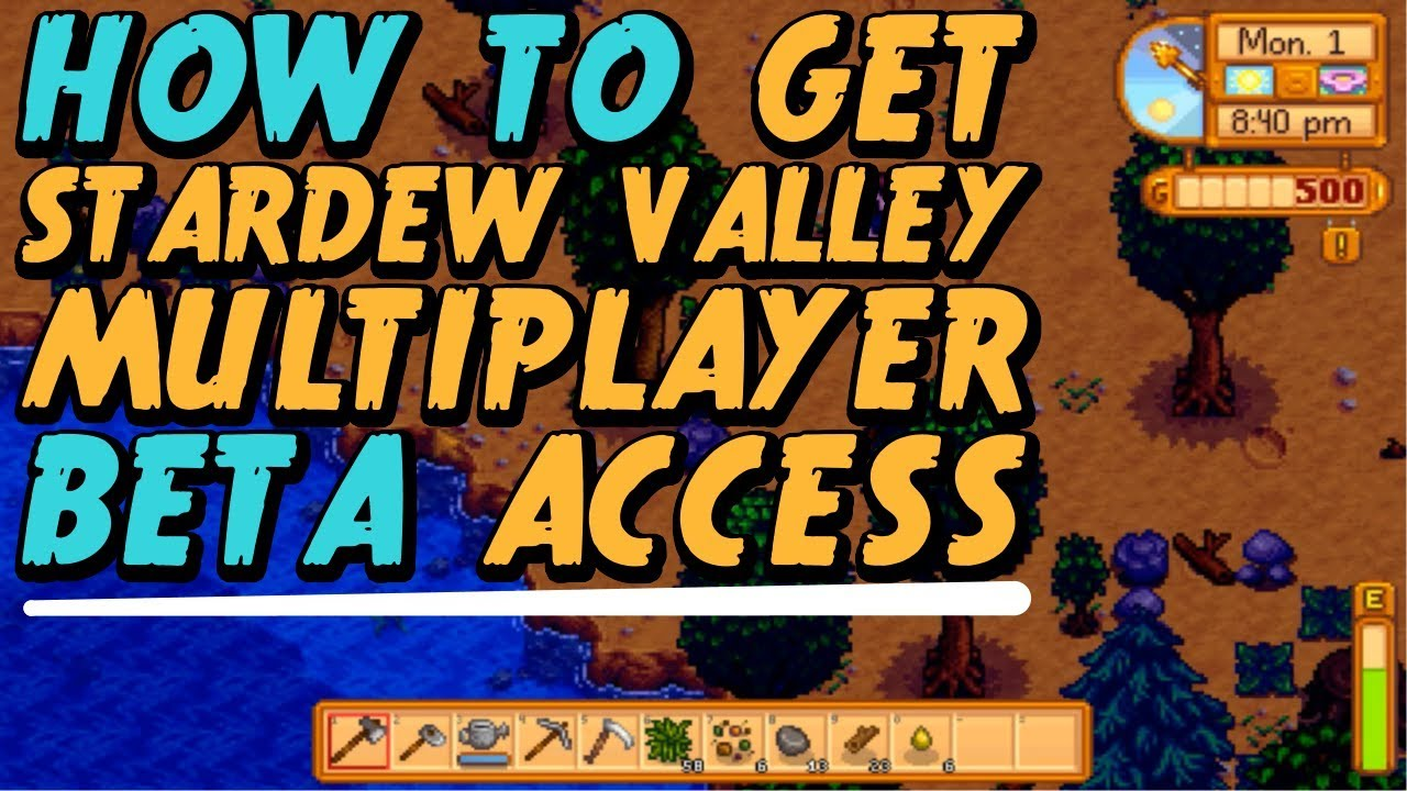 How To Get Stardew Valley Multiplayer Beta Access