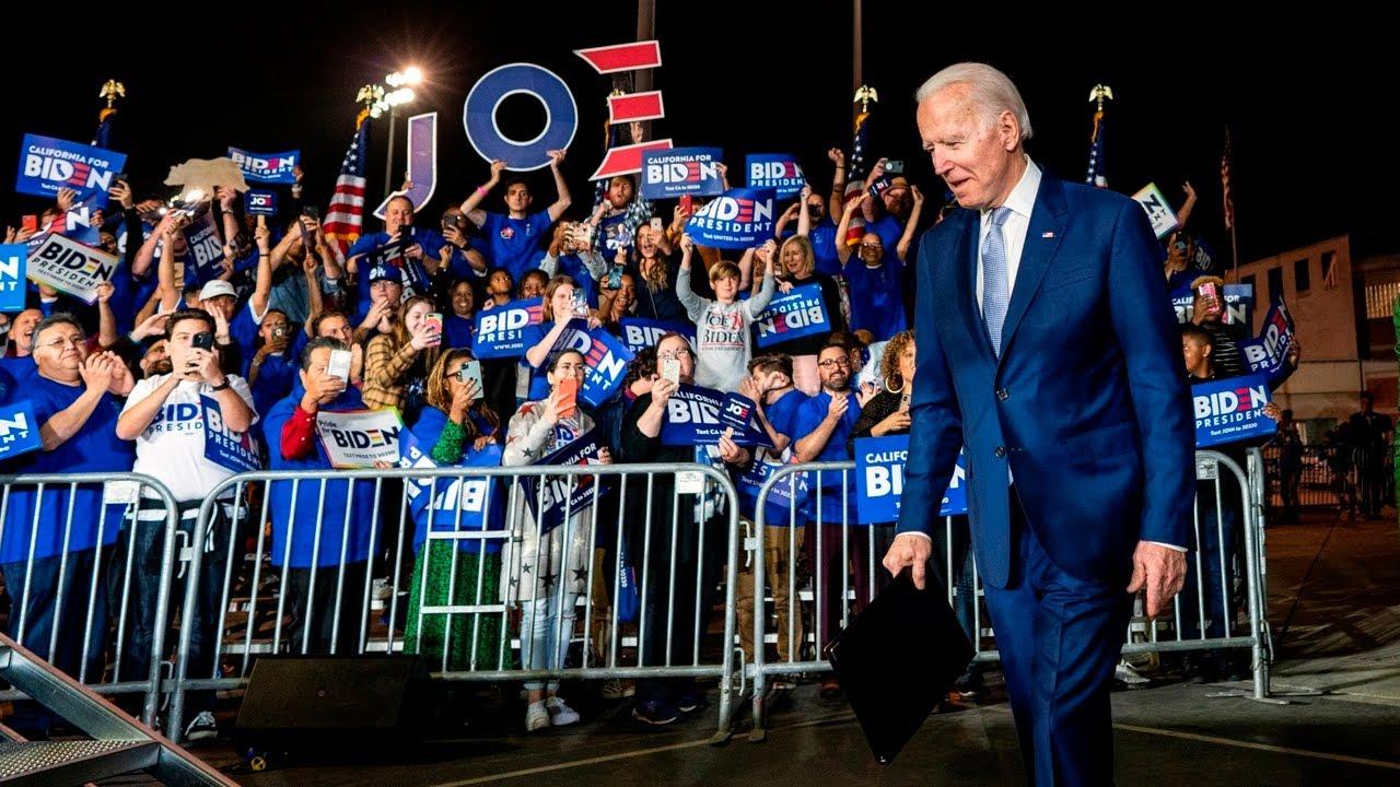 Stock market rallies after Biden bounce