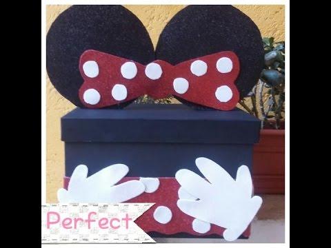 Cajita Minnie Mouse 💋 Youtube