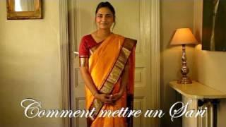 Comment mettre un Sari ou Saree Indien