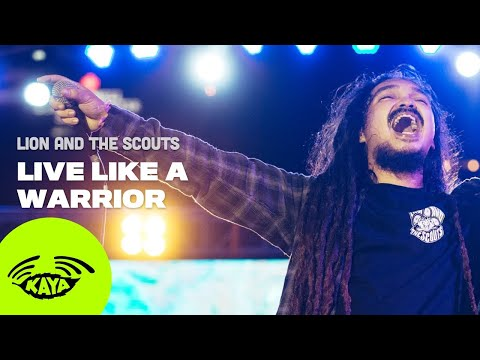 #4 Matisyahu - Live Like a Warrior (Cover by Lion and the Scouts w/ Lyrics) - Kaya Radio Live Sesh