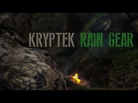 Kryptek Rain Gear Review Video #5 - The Gear Of Top Priority