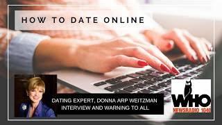 Donna Arp Weitzman LIVE on Radio discussing Online Dating