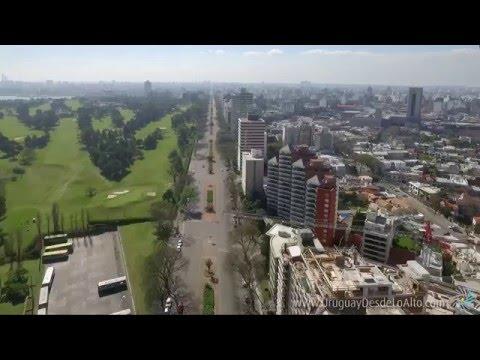 Video aéreo de Punta Carretas, Montevideo