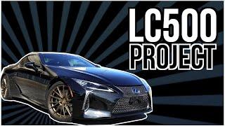 Lexus LC500 Project: Vossen Wheels, Clearbra/PPF, Tint, Coating, Chrome Delete