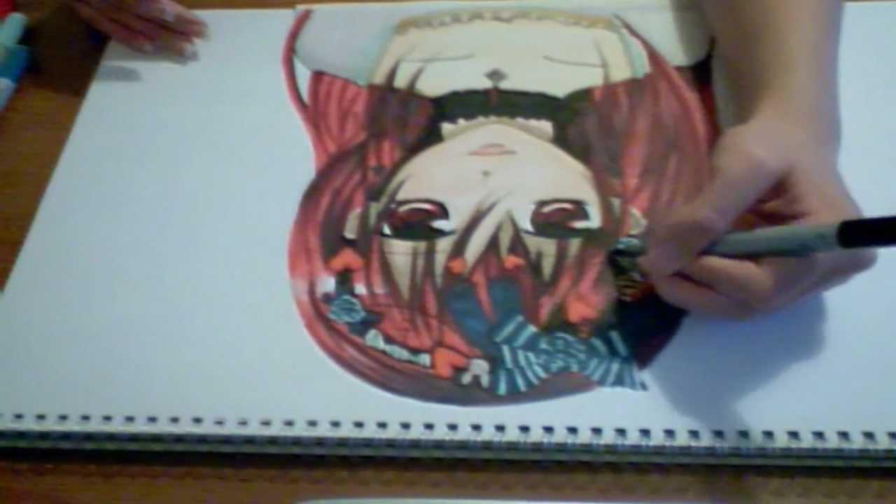 drawing yuki from vampire knight youtube