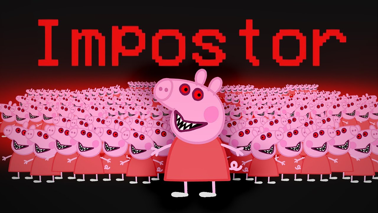 Download Among Us But With 1000 Peppa Pig Impostors