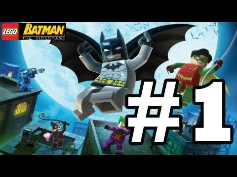 LEGO BATMAN Walkthrough Ep. 1 W/Blitzwinger - Clayface Attacks Gotham Bank