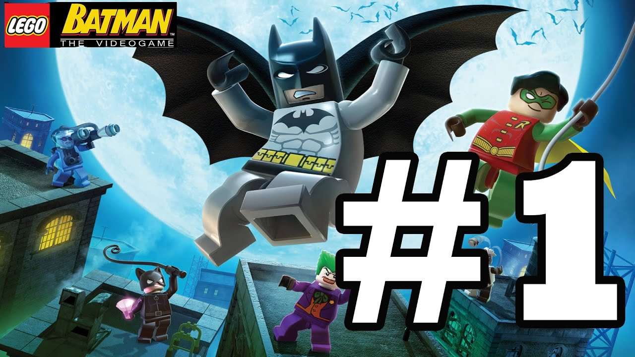 LEGO BATMAN Walkthrough Ep. 1 W/Blitzwinger - Clayface ...