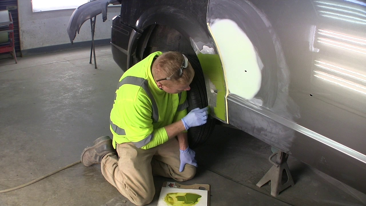 2010 Town And Country Sectioning A Rust Repair Panel And