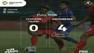 Download Video Indonesia U23 Vs China Taipei U23 4-0 All Goals & Highlights MP3 3GP MP4