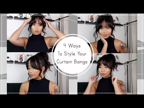 4-ways-to-style-your-curtain-bangs!-|-tutorial